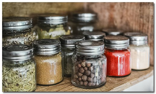 Eco-friendly kitchen products jars