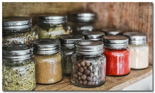 Eco-friendly kitchen products jars