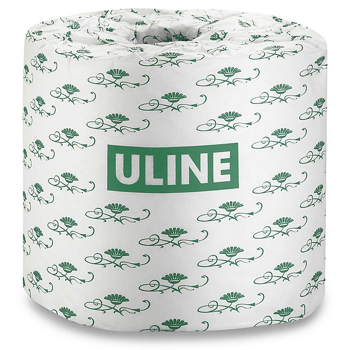 ULINE Toilet Paper Without Plastic Packaging