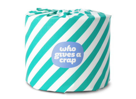 WHOGIVES ACRAP Toilet Paper Without Plastic Packaging